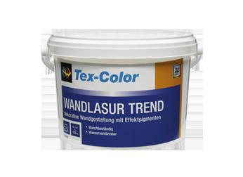 wandlasur trend tex color. Black Bedroom Furniture Sets. Home Design Ideas